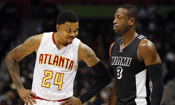 NBA: Παρέα με Τζόρνταν και Λεμπρόν ο Γουέιντ (photos & video)