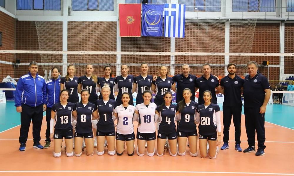 Εθνική βόλεϊ γυναικών: Εύκολα και από το Μαυροβούνιο