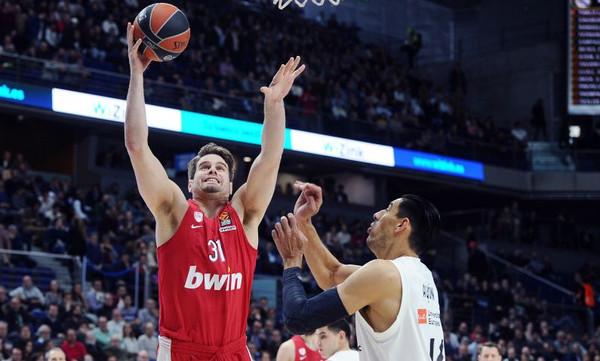 Ολυμπιακός: Βραδιά καριέρας για τον Μπόγρη στη Μαδρίτη (photos)