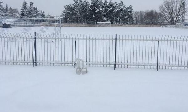 Γ' Εθνική: Αναβολή και μετάθεση αγώνων λόγω χιονιού
