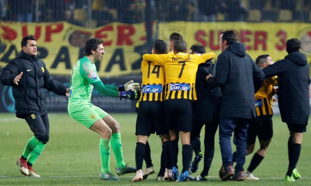 Άρης – Λαμία 1-0: Το γκολ που έδωσε τη νίκη στους «κίτρινους» (video)