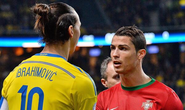Ιμπραΐμοβιτς για Ρονάλντο: «Αυτά είναι μαλ...»! (photos)