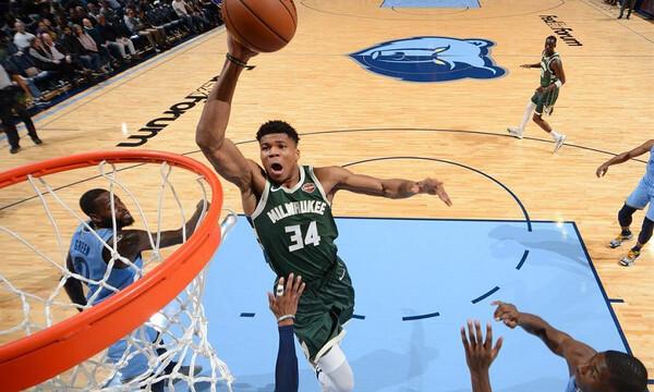 NBA: Στην κορυφή οδηγεί τους Μπακς ο Γιάννης! (videos+photos)