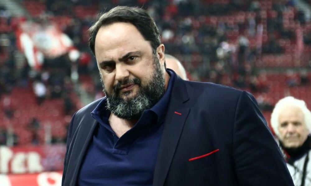 Μαρινάκης: «Η κυβέρνηση είναι εναντίον μας, αλλά δεν φταίει που χάσαμε το πρωτάθλημα»