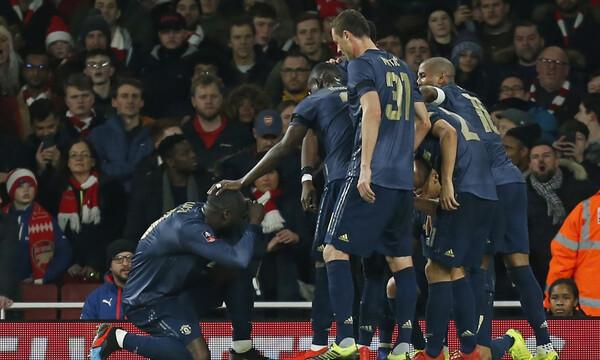 Άρσεναλ-Μάντσεστερ Γιουνάιτεντ 1-3: Αεράτη πρόκριση στους «16» του FA Cup (photos+video)
