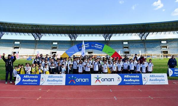 Πρεμιέρα για τα φεστιβάλ Αθλητικών Ακαδημιών ΟΠΑΠ στο Παγκρήτιο Στάδιο Ηρακλείου (photos+video)