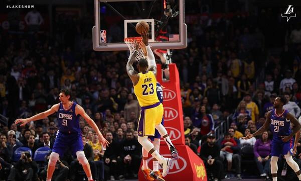 NBA: Ο Λεμπρόν είναι εδώ (videos)