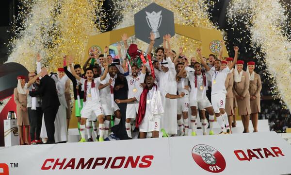 Κύπελλο Εθνών Ασίας: Ιστορική κούπα για το Κατάρ (photos+video)