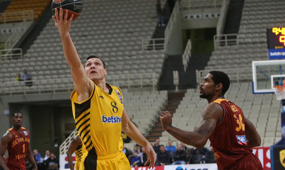 Αήττητη εντός η ΑΕΚ, τρομερός ο Προμηθέας και... clutch ο Βασιλόπουλος! (photo)