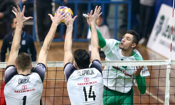 Κύπελλο Ελλάδος βόλεϊ: ΠΑΟΚ-Παναθηναϊκός στους «8»