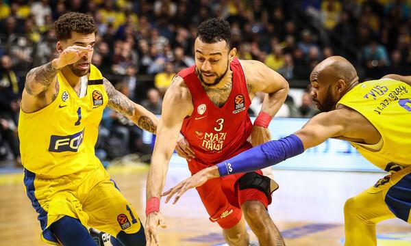 Μακάμπι-Ολυμπιακός 65-64: Ο Σφαιρόπουλος του... απομάκρυνε το πλεονέκτημα (photos)