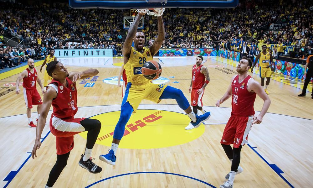 Euroleague: Η βαθμολογία μετά την ήττα του Ολυμπιακού (photo)