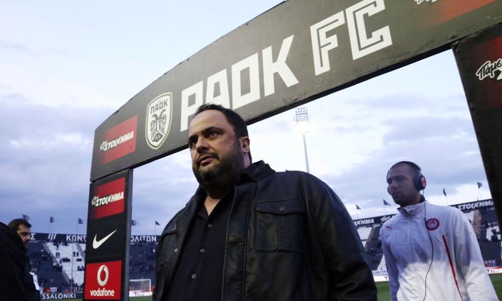 ΠΑΟΚ-Ολυμπιακός: Σκέφτεται να πάει Τούμπα ο Μαρινάκης
