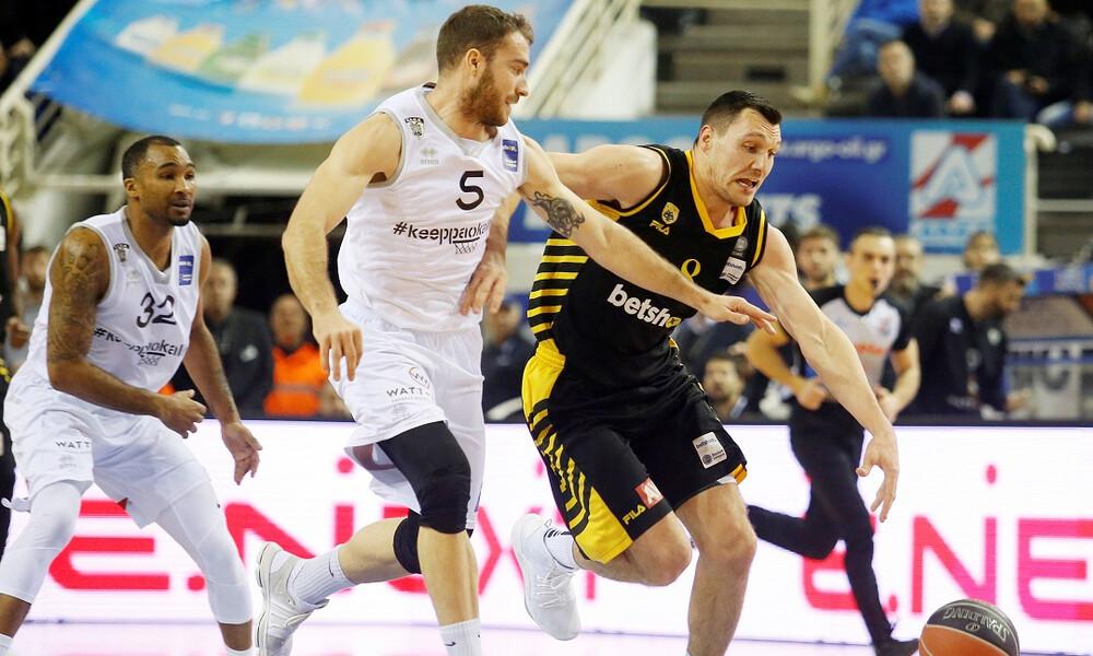 Basketball Champions League: Ελληνικός «εμφύλιος» ΑΕΚ - ΠΑΟΚ στους «16» και στο... βάθος ο Ζήσης!