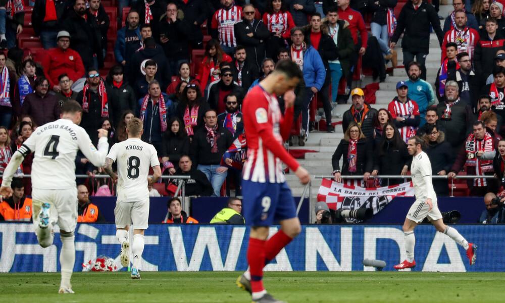 Ατλέτικο-Ρεάλ Μαδρίτης 1-3: Με τη βοήθεια του VAR πήρε το ντέρμπι (video)