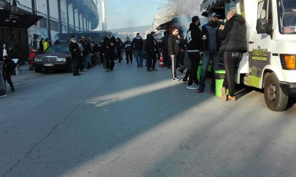 ΠΑΟΚ-Ολυμπιακός: Τι συμβαίνει τώρα στην Τούμπα - «Ζέσταμα» και πάρτι πριν το ντέρμπι (photos)