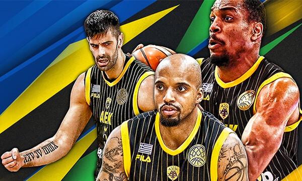 ΑΕΚ: Από τους Αμερικάνο και Τρόντζο στην κατάκτηση του Basketball Champions League (videos&photos)