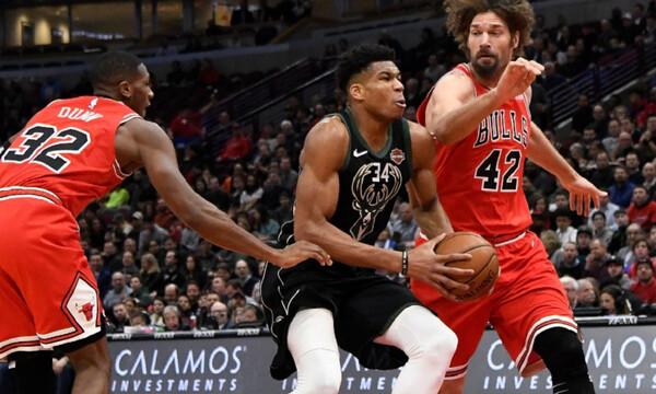 NBA: Γύρισε... αγριεμένος ο Γιάννης! (video+photos)