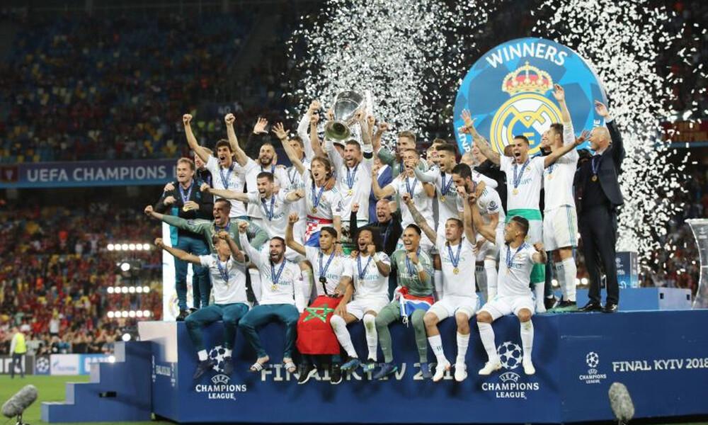 Η Ρεάλ Μαδρίτης είναι η κορυφαία ομάδα στον κόσμο