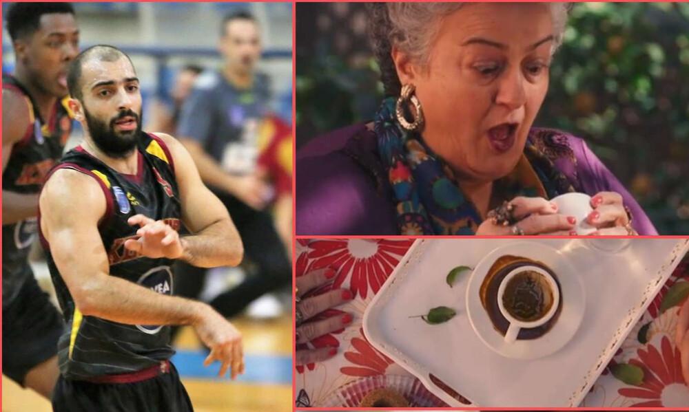 Έπος: Ομάδα της Κύπρου ανανέωσε παίκτη της βγάζοντας... διαφήμιση με καφετζού! (photos+vid)