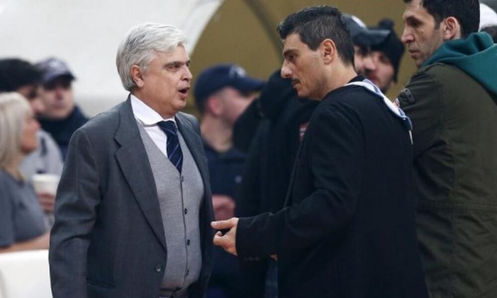 Παπαδόπουλος: «Μια ομάδα υπήρχε στο γήπεδο, τα άλλα είναι δικαιολογίες»
