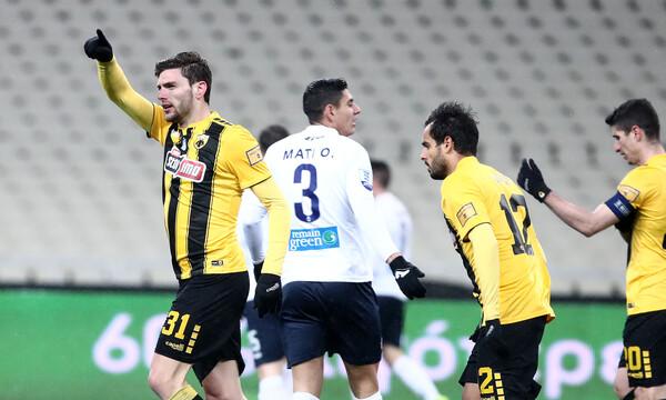 ΑΕΚ-Απόλλων Σμύρνης: Το γκολ του Μπογέ απελευθέρωσε την Ένωση (photos)