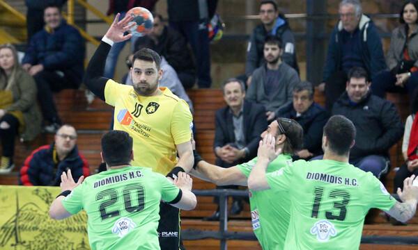Α1 Χάντμπολ: Άνετη νίκη για την ΑΕΚ επί του Διομήδη (photos)