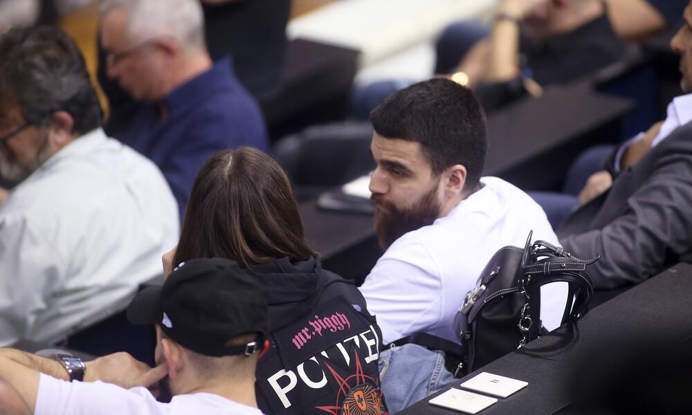 ΠΑΟΚ-ΑΕΚ: Κοντά στην ομάδα μπάσκετ ο Γ. Σαββίδης (photos)