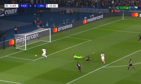 Champions League: Το γκολ του Λουκάκου στο Παρίσι (video)