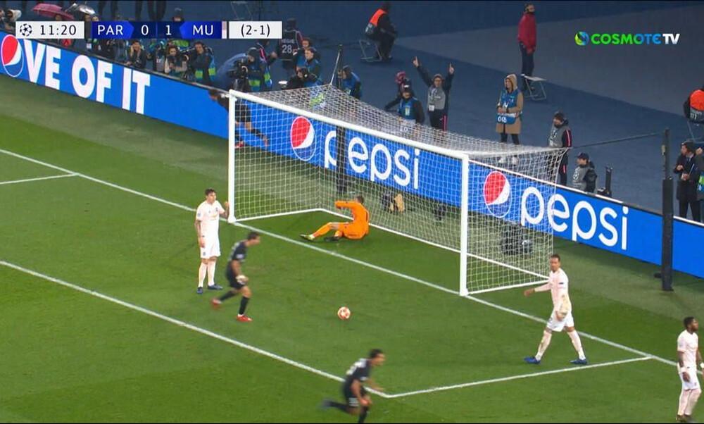 Champions League: Ο Μπερνάτ «τελείωσε» τα όνειρα της Γιουνάιτεντ (video)