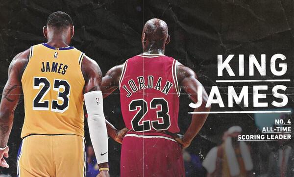 NBA: Μύθος ο Λεμπρόν, ξεπέρασε τον Τζόρνταν (video+photos)