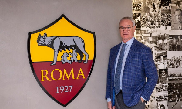 Επιστροφή Ρανιέρι στη Ρόμα (photos)