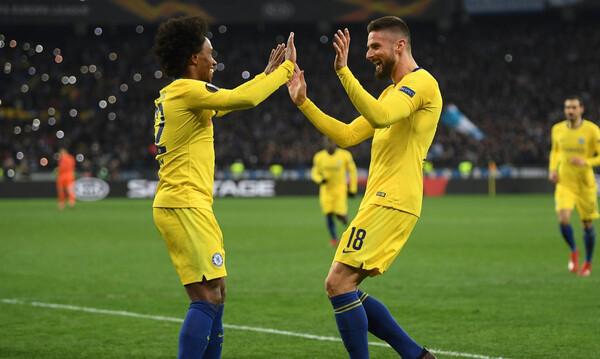 Europa League: Καταιγιστική η Τσέλσι, πρόκριση-θρίλερ η Βαλένθια (videos)