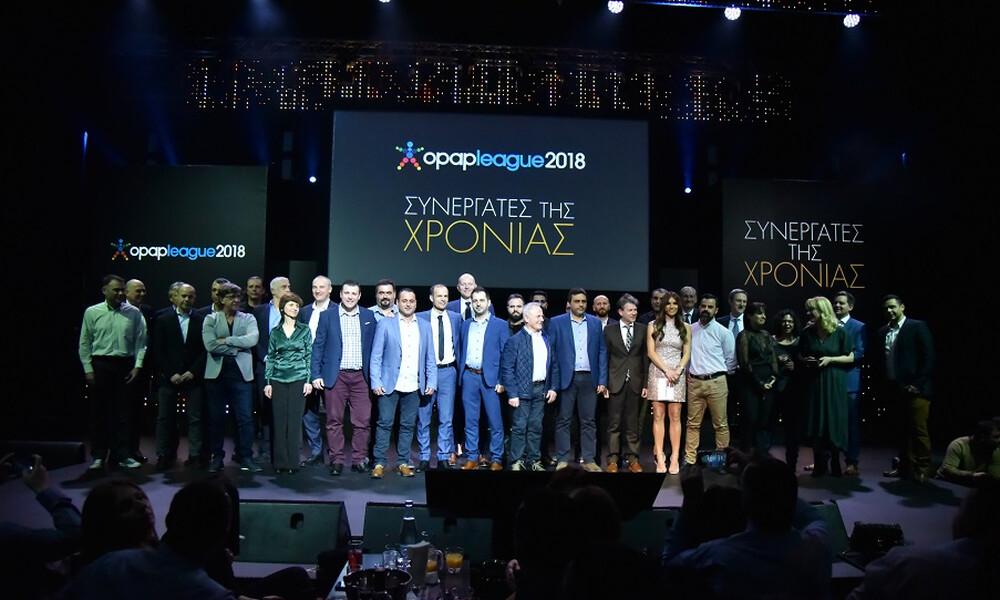 ΟΠΑΠ: Λαμπερή βραδιά αφιερωμένη στους συνεργάτες που ξεχώρισαν το 2018