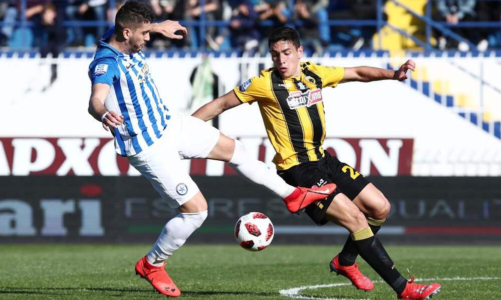 Ατρόμητος-ΑΕΚ 0-1 (τελικό): LIVE η μάχη στο Περιστέρι