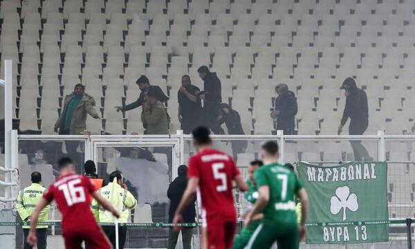Παναθηναϊκός – Ολυμπιακός: Διακοπή και «ταφόπλακα» σε «τριφύλλι» και ποδόσφαιρο…