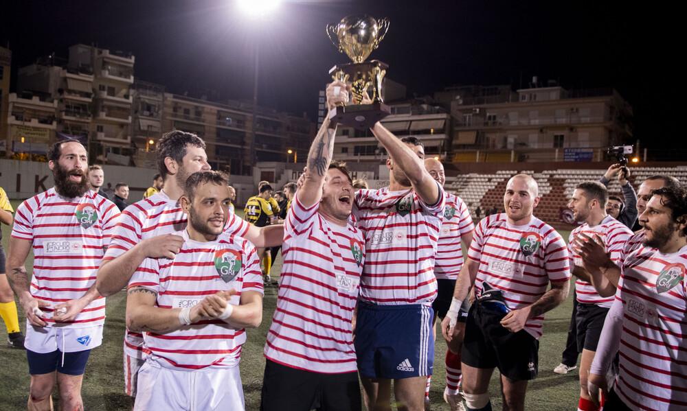 Οι Γκλαντιατόρι Ρόμα κατέκτησαν το ευρωπαϊκό κύπελλο ράγκμπυ λιγκ
