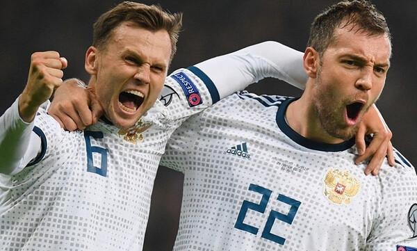 Προκριματικά EURO 2020: «Ντόρτια» η Ρωσία, με το «δεξί» η Ουαλία