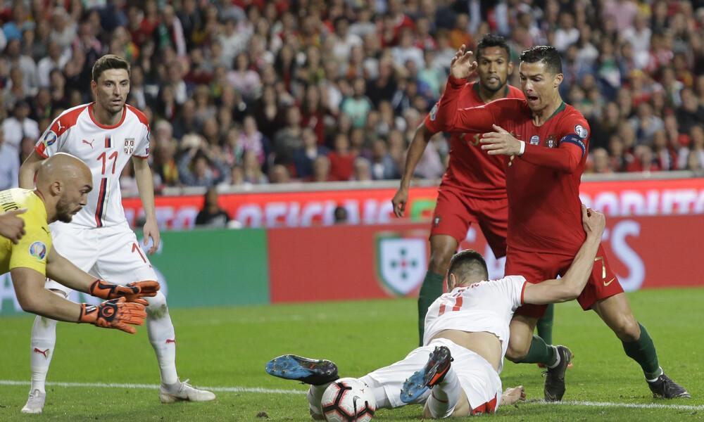 Προκριματικά Euro 2020: Τραυματίστηκε ο Ρονάλντο, ανησυχία στη Γιουβέντους (video+photos)