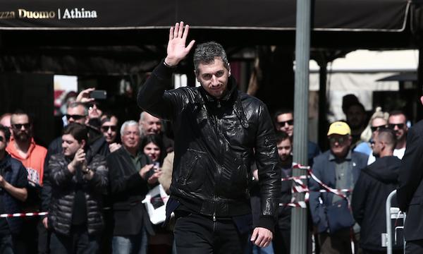 Το δικό του «αντίο» στον Θανάση Γιαννακόπουλο είπε ο Διαμαντίδης (video+photos)