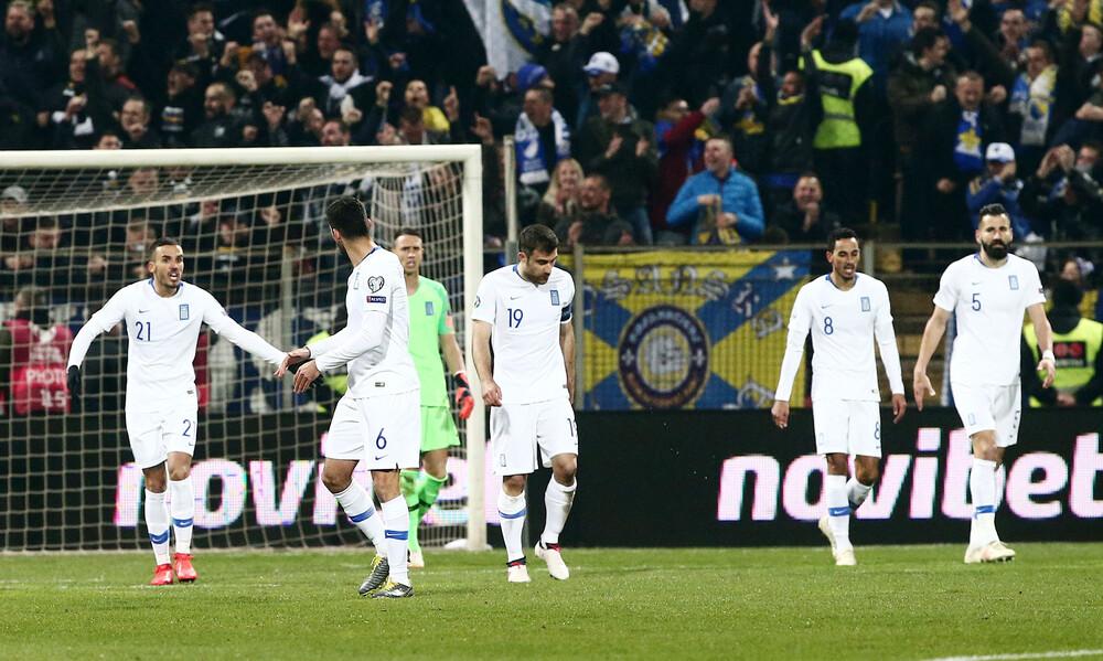 Άμυνα... παιδική χαρά η Εθνική: Δύο γκολ σε 15 λεπτά η Βοσνία! (videos)
