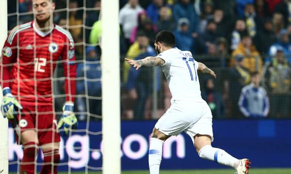 Βοσνία-Ελλάδα 2-2: Έτσι έμεινε όρθια στη Ζένιτσα (videos)