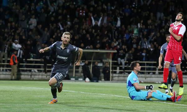Super League: Η βαθμολογία μετά από τις νίκες ΠΑΟΚ, Ολυμπιακού (photo)