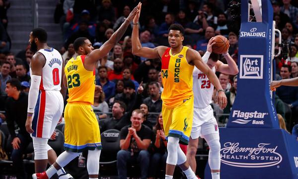 NBA: Το πρόγραμμα των Μπακς στα play offs