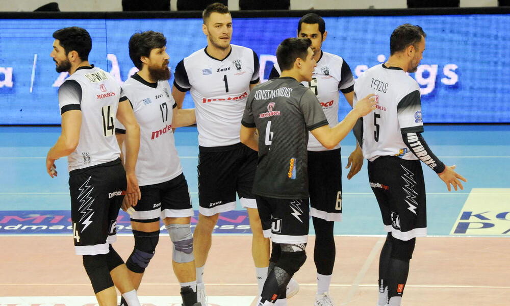 Volley League: Ένα βήμα μακριά από τον τελικό ΠΑΟΚ και Ολυμπιακός