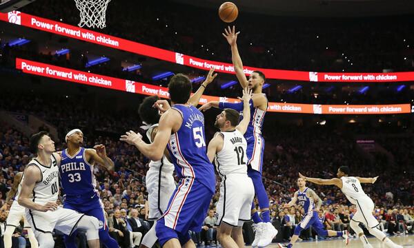 NBA: «Ξύπνησαν» οι Σίξερς, μπρέικ οι Κλίπερς (videos+photos)
