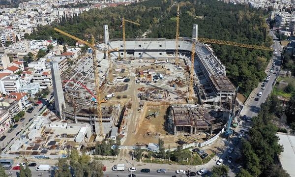 Επίσημο: Η εταιρεία του Κόκκαλη ανέλαβε την υπογειοποίηση του γηπέδου της ΑΕΚ (photos)