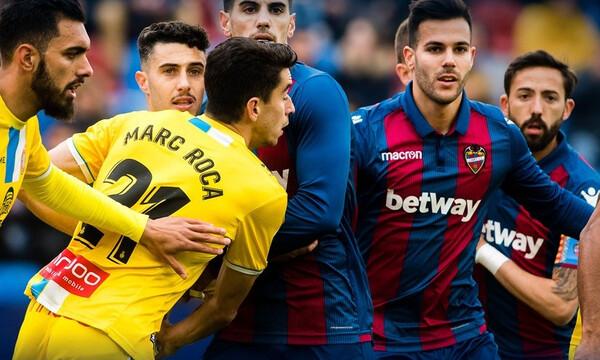 La Liga: «Ζωντανή» η Λεβάντε