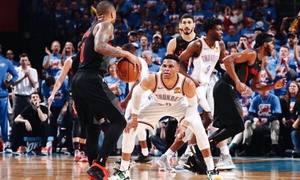 NBA: Break και κοντά σε πρόκριση Μπλέιζερς και Ράπτορς (videos)