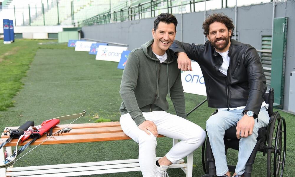 Σάκης Ρουβάς και Αντώνης Τσαπατάκης βάζουν στόχους σε ένα ανατρεπτικό challenge
